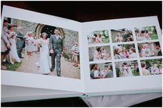 Queensberry Wedding Album | Baby Blue Microleather embossed Cover - www.queensberry.com | tarah Coonan Photography | www.tarahcoonan.com