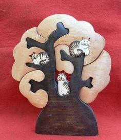 Artesanato Paraty - Artesanato em madeira: Árvore 002 22 x18 R$ 110,00
