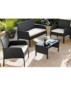 belsize wicker rattan garden furniture set on sale now for only 33558 excellent rattan garden furniture pinterest gardens rattan garden furniture