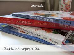 Logopedie / Tipy na logopedické knížky Vol. 1 Cover, Books, Libros, Book, Book Illustrations, Libri