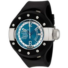 Invicta Men's 6847 S1 Collection GMT Blue Enamel Dial Black Polyurethane Watch Invicta. $97.95. Blue enamel dial with luminous hands and silver-tone arabic numerals at 12:00 and 6:00; gmt. Precise Swiss-quartz movement. Date function. Durable flame-fusion crystal; stainless steel case; black polyurethane strap. Water-resistant to 330 feet (100 M)