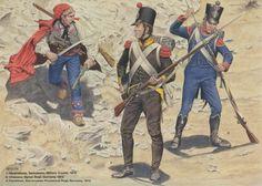 Croatian and German Military 1812/13.