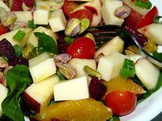 Orange Beet Salad with Pistachios