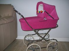 . Pram Stroller, Baby Strollers, Vintage Pram, Prams And Pushchairs, Dolls Prams, Baby Carriage, Children, Dogs, Pram Sets