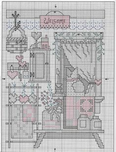 Cross stitch patterns (country only) (p. 32) | Learn crafts is facilisimo.com