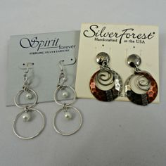 Earrings and fashion jewelry to complete any outfit.