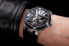 INTRODUCING: The Ulysse Nardin Executive Tourbillon - http://timeandtidewatches.com/introducing-the-ulysse-nardin-executive-tourbillon/