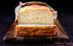 Quick and Easy Sweet Potato Bread. Perfect for breakfasts, snacks and lunch boxes. Free from gluten, grains, nuts and refined sugar. Sweet Potato Bread, Paleo Sweet Potato, Roasted Sweet Potatoes, Easy Bread Recipes, Sweet Recipes, Baking Recipes, Whole Food Recipes, Raw Recipes, Simply Recipes