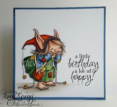 Loopylass Craft Creations: A Little Bit of Birthday Happy with Mo's Digital Pencil