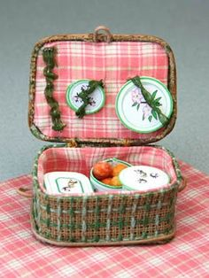 how to: picnic basket