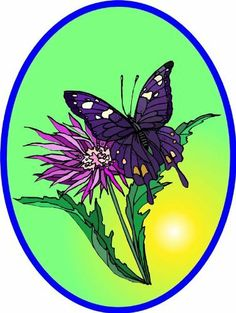 Purple & White Butterfly on Magenta Flower - Vinyl Stained Glass Film, Static Cling Window Decal by Window Art in Vinyl Etchings. $2.95. Many standard sizes are available. No additional charge for custom sizes.. Vinyl decal material and ink are safe for outdoor or indoor use.. Advanced UV protection insures material will not discolor or damage glass.. Simple to remove, the vinyl decals can be easily reapplied without the loss of static cling.. Clear static-cling vinyl decal effo...