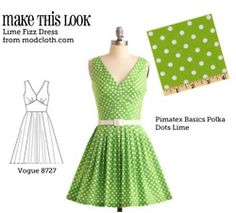 How to make some of your favourite dresses from modcloth. I can't wait to try these, once I get a sewing machine!