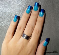 Unhas bicolores - By Imaginattio
