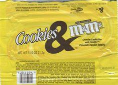 Cookies & M&M's Bar
