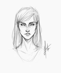 Quick sketch of Aelin today to warm up after two weeks of no drawing! Looking forward to getting started on all your guys suggestions :)