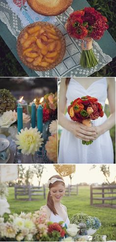 The bouquet with a pin!