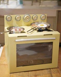 Cardboard-Box Oven