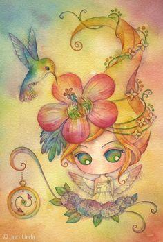 https://flic.kr/p/fS5Uxm | timetraveller | 19cm x 28cm / watercolor on paper / 2013 *sold*