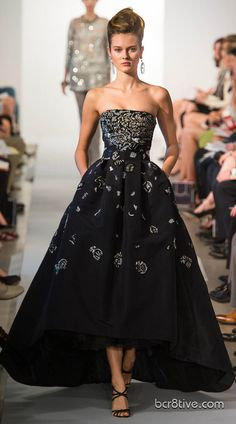 www.fashion2dream.com fashion 2013  Oscar De La Renta Spring Summer Ready to Wear 2013
