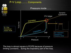 mechanical ventilation loops Mechanical Ventilation, Respiratory Therapy, B & B, Pediatrics