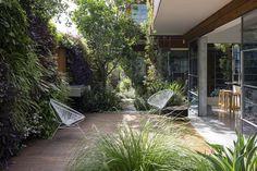 # bepflanzte Gartenwand