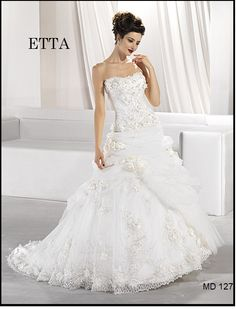 ETTA Bridal Boutique, One Shoulder Wedding Dress, Wedding Gowns, Future Children, Style, Fashion, Homecoming Dresses Straps, Swag, Moda