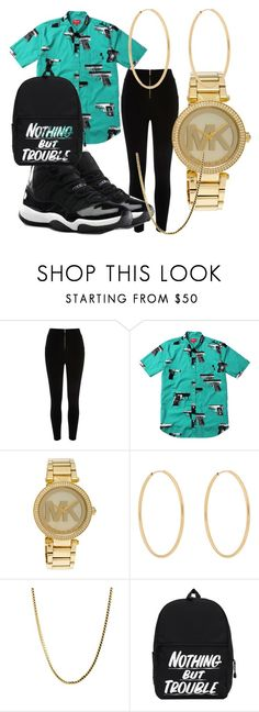 """When im feeling tomboyish"" by twisted-membrane on Polyvore featuring River Island, Michael Kors, Loren Stewart, NIKE, women's clothing, women, female, woman, misses and juniors"