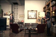 White Collar Images: Neal's Apartment Sitting Area