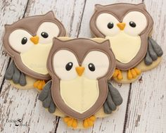 Listing is for one dozen (12) Owl Sugar Cookies   DATE NEEDED: Please leave your…
