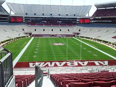 university of alabama picture of stadium | University of Alabama Football Stadium and the Zone - Imgur