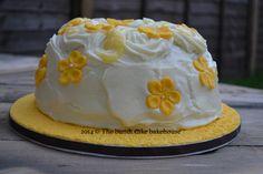 Flower themed bundt cake