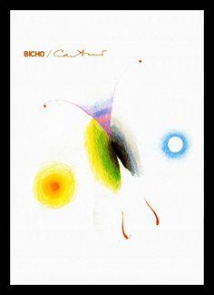 Quadro Poster Musica Caetano Veloso Bicho - Decor10
