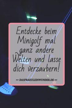 Testbericht - Schwarzlicht Minigolf - Glowing Rooms Köln