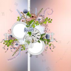 "Photo from album ""En ton hommage"" on Yandex. 2 Clipart, Frame It, Wreaths, Creative, Floral, Scrapbooking, Digital, Yandex, Home Decor"
