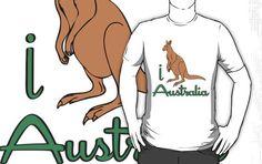 #Redbubble Inc            #love                     #LOVE #AUSTALIA #T-shirt  I LOVE AUSTALIA T-shirt                             http://www.seapai.com/product.aspx?PID=876055