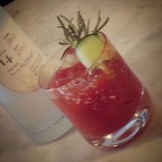 Ogilvy Bloody Mary competition - Joe's entry