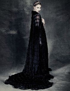 Beatrice wearing a Valentino gown in Vogue Italia