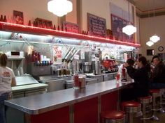 Woolworth Lunch Counter.    I remember this!