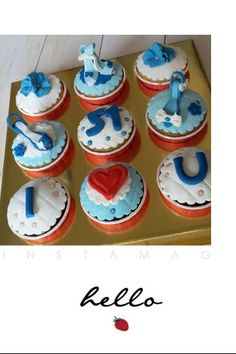 High Heel Cupcake set