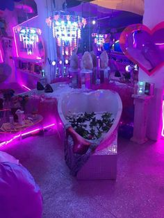 Home decoration is one of the most important elements that help you to define the… Neon Bedroom, Room Ideas Bedroom, Bedroom Decor, Neon Aesthetic, Aesthetic Room Decor, Dream Rooms, Dream Bedroom, My New Room, My Room