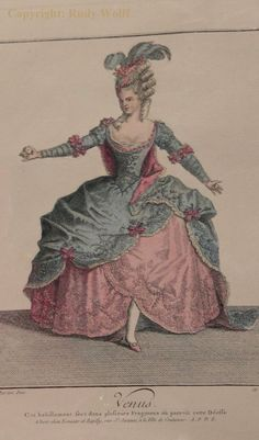 Possibly an 18th century ballet costume?