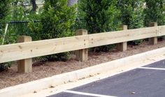 Guard Rails for Parking Lots, Bridges, and More | Mauldin Cook Fence