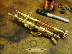 Steampunk Electroplasmatic Field Generator Multitool 001 | Flickr - Photo Sharing!