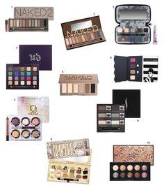 Melhores paletas de sombra do Total Makeup!