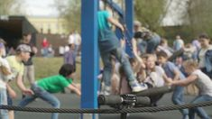 Outdoor games help to make kids healthy and fit