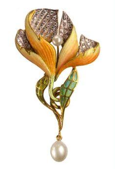 Страна чудес - Вдохновение в стиле Art Nouveau: украшения