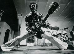 The true King of Rock'n Roll, Mr Chuck Berry