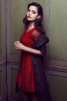 Jenna Coleman - this shoot was actually taken by my all time favorite photographer Lara Jade!