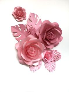 Baby Room Paper Flowers Paper Flowers for Nursery by MioGallery