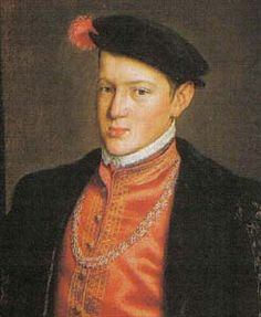 John Manuel was a Portuguese infante, the eighth son of King John III of Portugal by his wife Catherine of Habsburg (House of Habsburg), daughter of Philip of Burgundy and Joanna of Castile. As the heir to the throne he was styled Prince of Portugal. History Of Portugal, Spain History, Joanna Of Castile, Spanish Netherlands, Princess Of Spain, Catherine Of Aragon, Costumes For Teens, European History, History Books